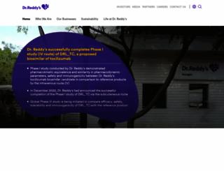 drreddys.com screenshot