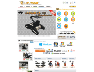 drrobot.com screenshot