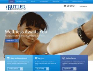 drscottbutler.com screenshot