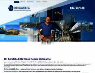 drscratchless.com.au screenshot