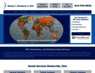 drshankland.com screenshot