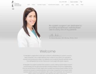 drsheinamacadam.com screenshot