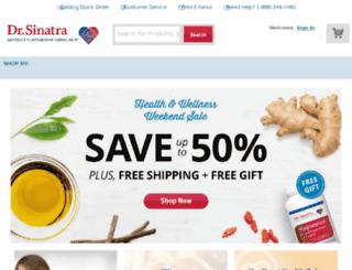 drsinatranaturalhealth.com screenshot