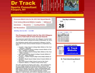drtrack.com screenshot