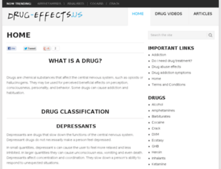 drug-effects.us screenshot