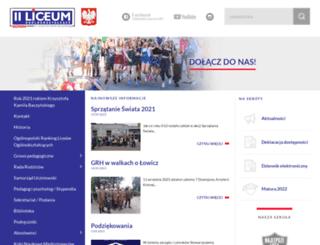 drugieliceum.lm.pl screenshot