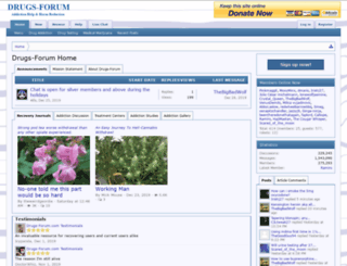 drugs-forum.com screenshot