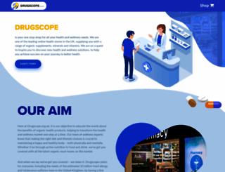 drugscope.org.uk screenshot