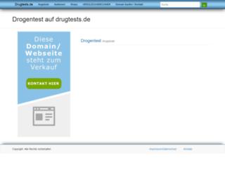 drugtests.de screenshot
