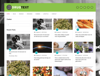 drugtext.nl screenshot