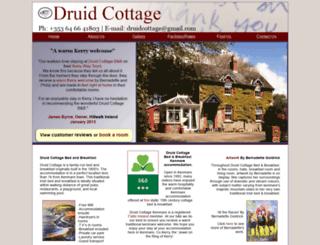 druidcottagekenmare.com screenshot
