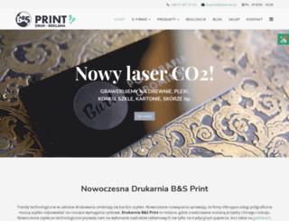 drukarniabsprint.pl screenshot