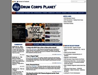 drumcorpsplanet.com screenshot