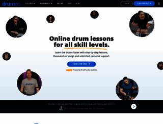 drumeo.com screenshot