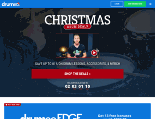 drumeoedge.com screenshot