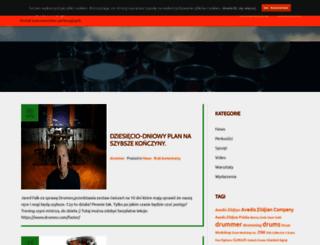 drummer.pl screenshot