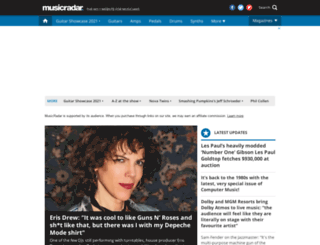 drummermagazine.co.uk screenshot