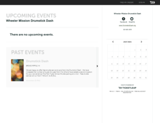 drumstickdash.ticketleap.com screenshot