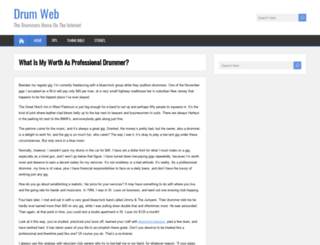 drumweb.com screenshot