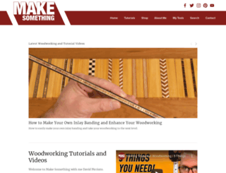 drunkenwoodworker.com screenshot