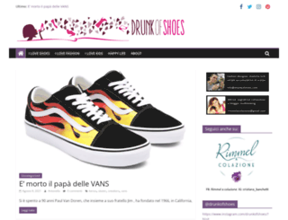 drunkofshoes.com screenshot