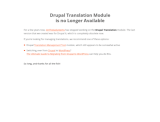 drupal-translation.com screenshot