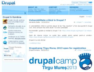 drupal.org.ro screenshot