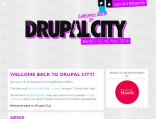 drupalcamp.berlin screenshot
