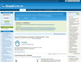 drupalcenter.de screenshot