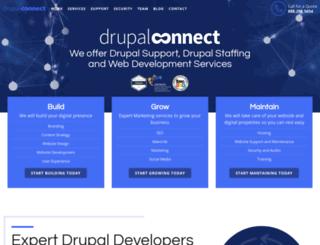 drupalconnect.com screenshot
