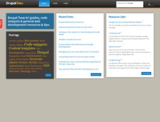 drupalden.co.uk screenshot