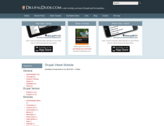 drupaldude.com screenshot