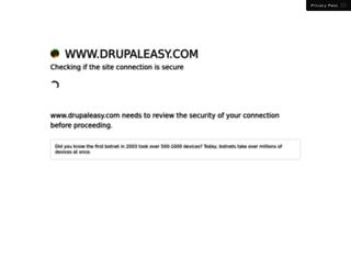 drupaleasy.com screenshot