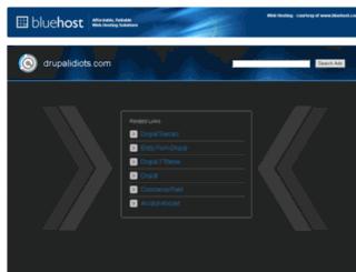 drupalidiots.com screenshot