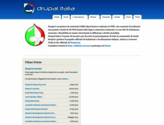 drupalitalia.org screenshot