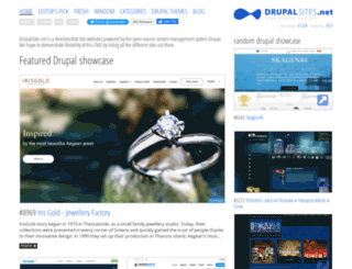 drupalsites.net screenshot