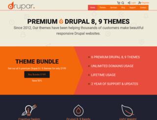 drupar.com screenshot