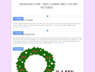 drupload.com screenshot