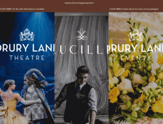 drurylane.com screenshot