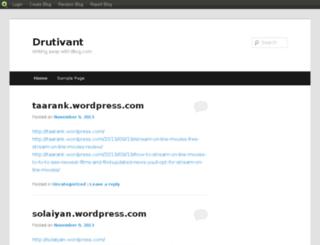drutivant.blog.com screenshot