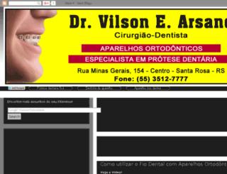 drvilsonarsand.blogspot.com.br screenshot