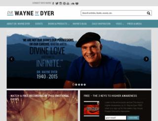 drwaynedyer.com screenshot