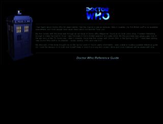 drwhoguide.com screenshot