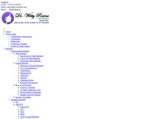 drwittyraina.com screenshot