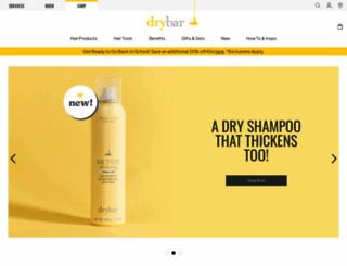 drybar.com screenshot