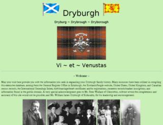 dryburgh.us screenshot