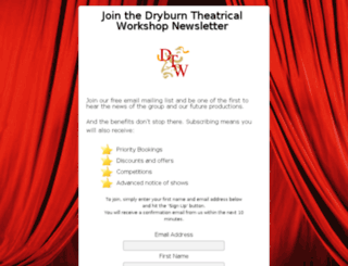 dryburntwupdates.co.uk screenshot