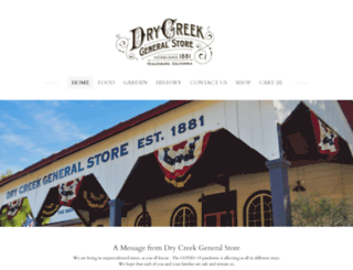 drycreekgeneralstore1881.com screenshot