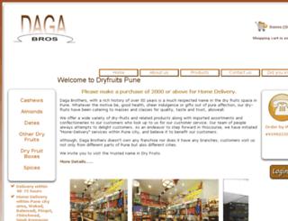 dryfruitspune.com screenshot