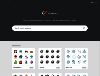 dryicons.com screenshot